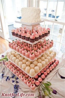 Tortas modernas: con cupcakes 11