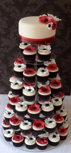 Tortas modernas: con cupcakes 12