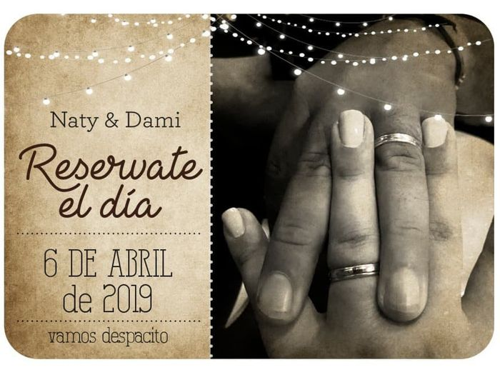 a 4 meses: Save The Date + cositas 1