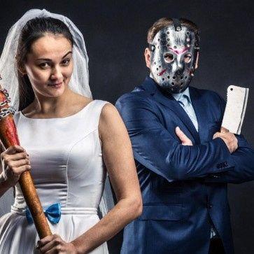 Ideas: boda temática terror 17