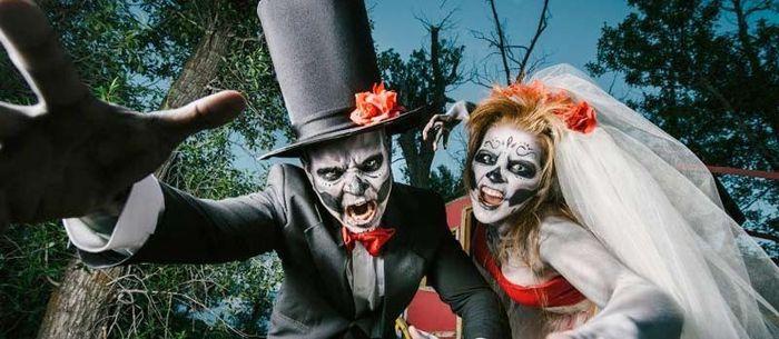 Ideas: boda temática terror 18