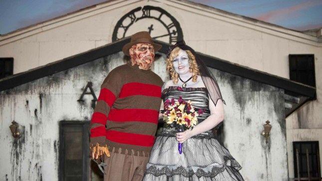 Ideas: boda temática terror 19