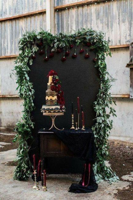 Ideas: boda temática terror 45