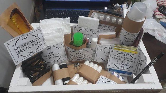 Kit de emergencia para los baños DIY  ✔ 8