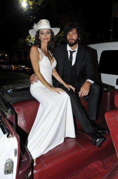 Las bodas de Paz Cornú y Jorge Rial made in Argentina 2