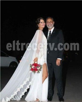 Las bodas de Paz Cornú y Jorge Rial made in Argentina 12