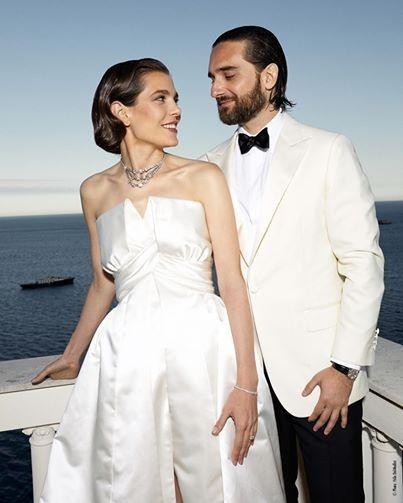 La boda de Carlota Casiraghi y Dimitri Rassam - 3 vestidos para una novia! 3