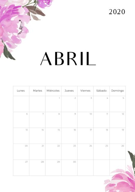 Novias Abril 2020, digan presente! 1
