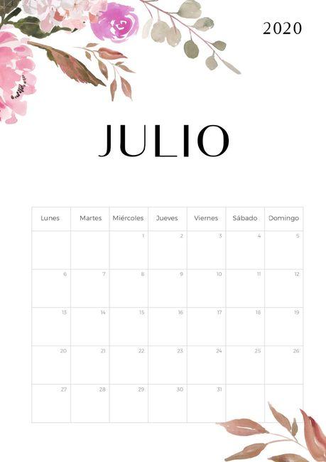 Novias Julio 2020, digan presente! 1