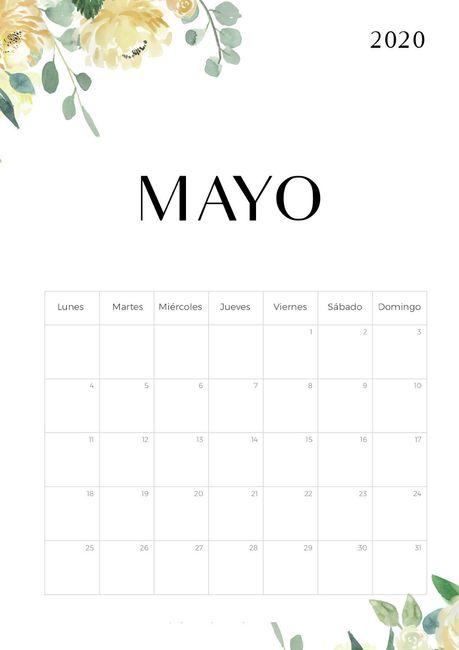 Novias Mayo 2020, digan presente! 1