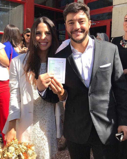 La soñada boda de Florencia Prada y Gustavo Vanadía 2