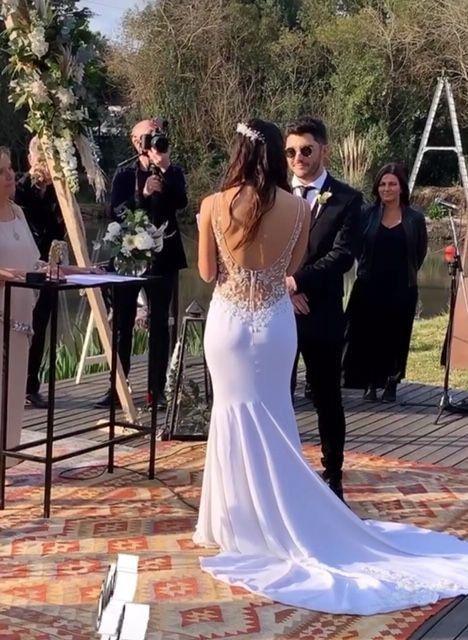 La soñada boda de Florencia Prada y Gustavo Vanadía 6