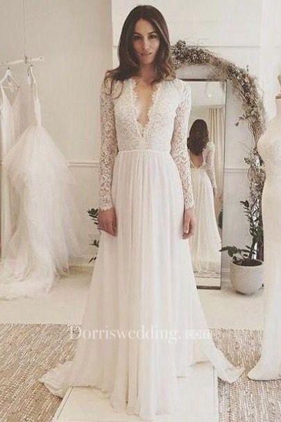 10 vestidos de novia con falda plisada 6