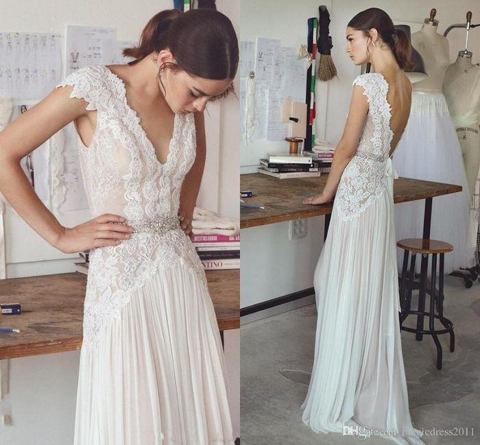 10 vestidos de novia con falda plisada 10