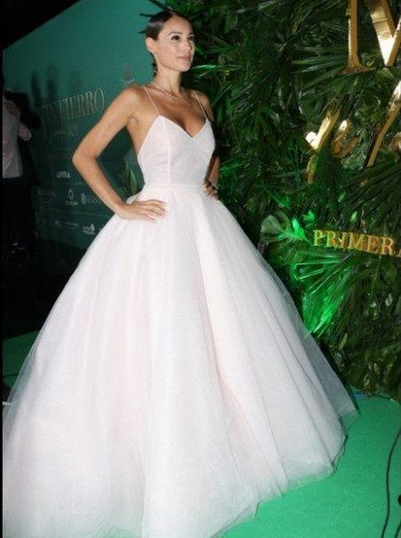 El impactante vestido de Pampita en la entrega de premios Martín Fierro a la Moda 2019 4