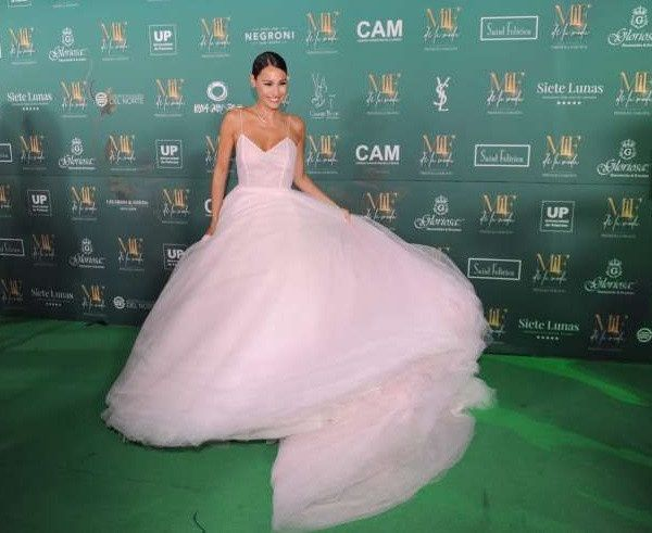 El impactante vestido de Pampita en la entrega de premios Martín Fierro a la Moda 2019 5
