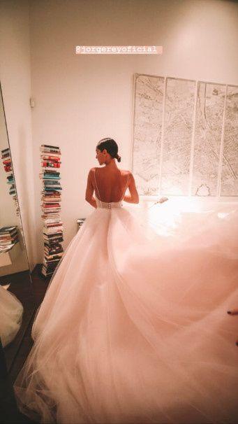 El impactante vestido de Pampita en la entrega de premios Martín Fierro a la Moda 2019 8
