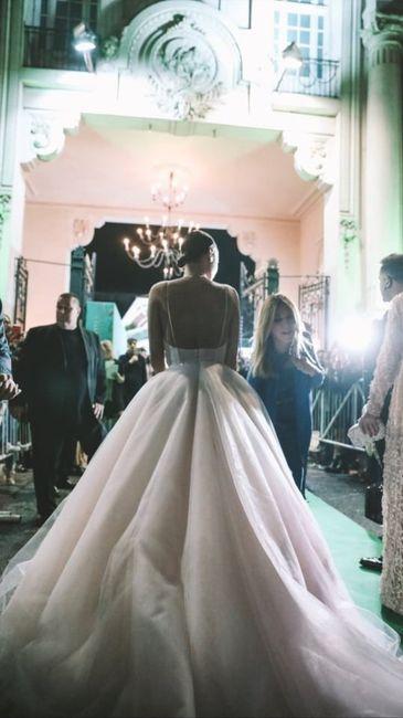 El impactante vestido de Pampita en la entrega de premios Martín Fierro a la Moda 2019 9