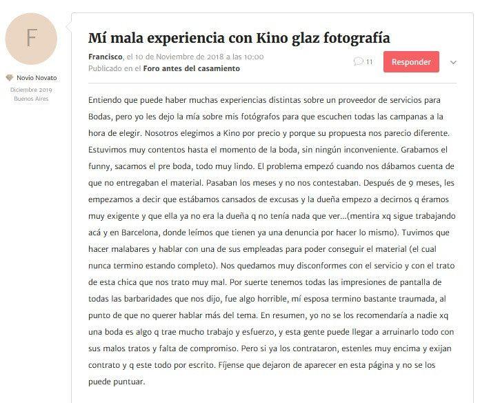 Mi (mala) experiencia con Kinoglaz Producciones 4