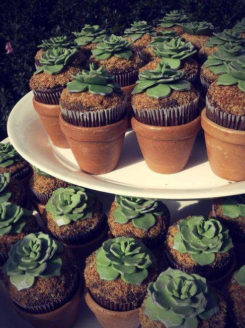 Mesa dulce temática: Cactus 2