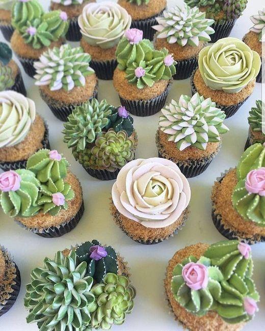 Mesa dulce temática: Cactus 5