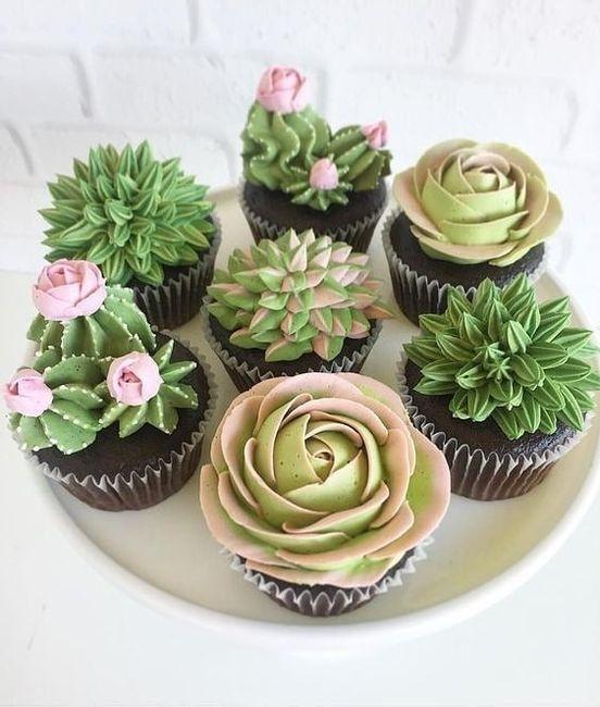 Mesa dulce temática: Cactus 7