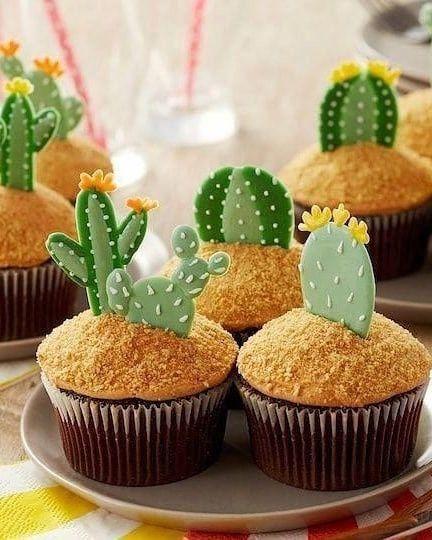 Mesa dulce temática: Cactus 8