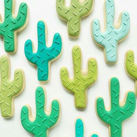 Mesa dulce temática: Cactus 13