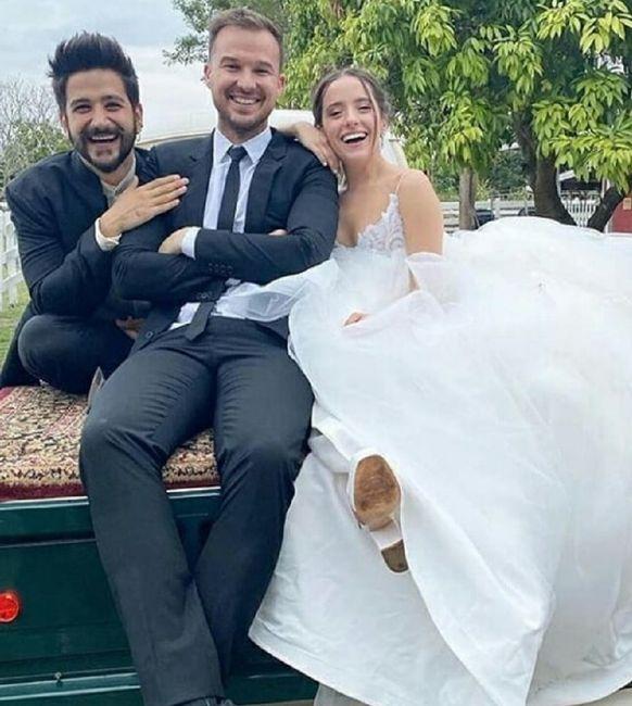 Casamiento de Evaluna y Camilo 8