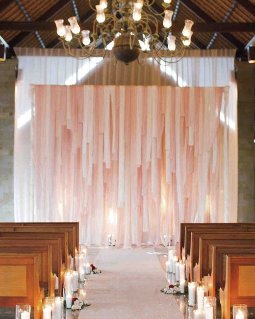 Ceremonias en interior: decoración 1