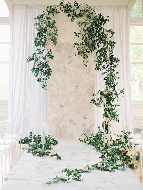 Ceremonias en interior: decoración 2
