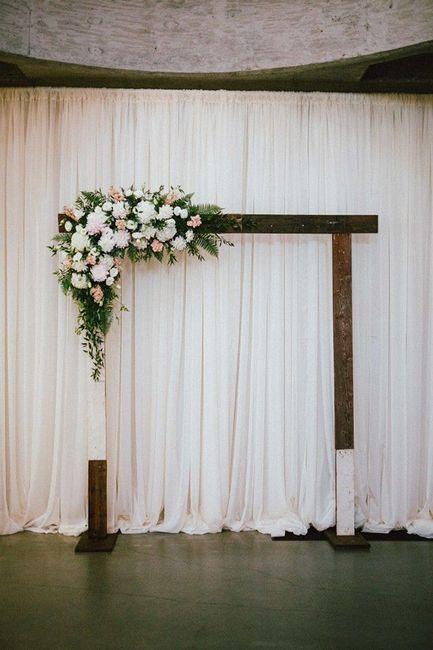 Ceremonias en interior: decoración 4