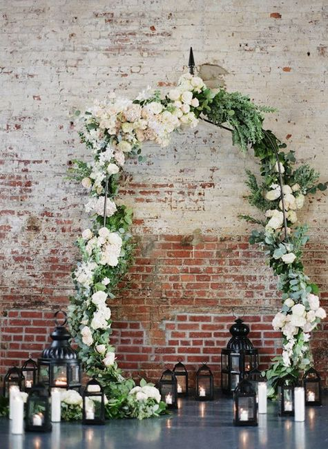 Ceremonias en interior: decoración 6