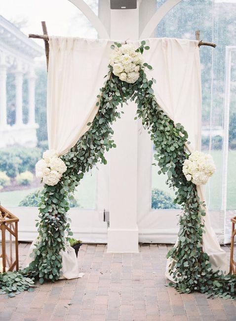Ceremonias en interior: decoración 10