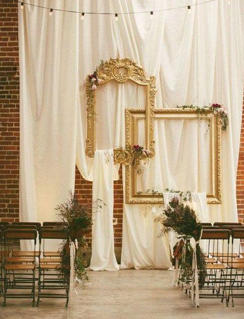 Ceremonias en interior: decoración 12