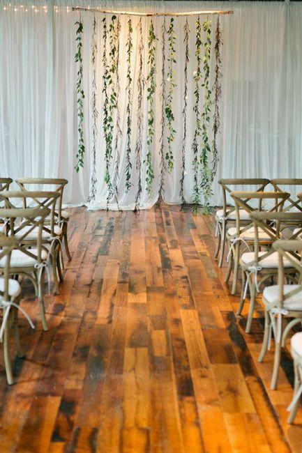 Ceremonias en interior: decoración 13
