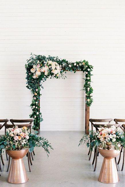 Ceremonias en interior: decoración 14