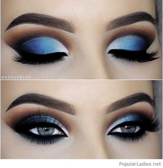 """y si tu """"algo azul"""" fuera el make up? 1"""