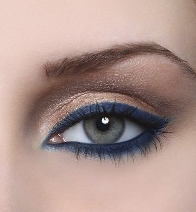 """y si tu """"algo azul"""" fuera el make up? 5"""