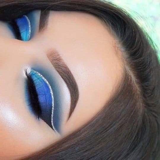 """y si tu """"algo azul"""" fuera el make up? 7"""