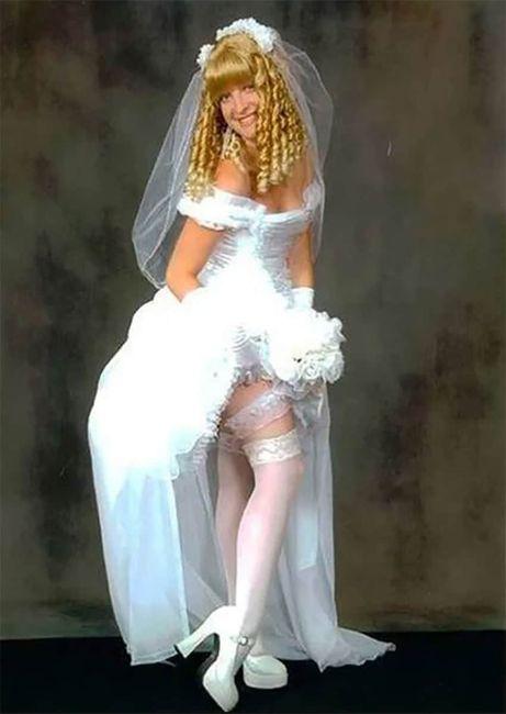 Perlita de viernes: vestidos de novia que dejaron a los invitados con la boca abierta :o 7