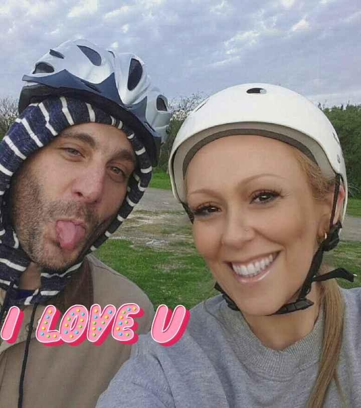 Vicky y Hernán, celebramos nuestro 10º día de los enamorados - 1