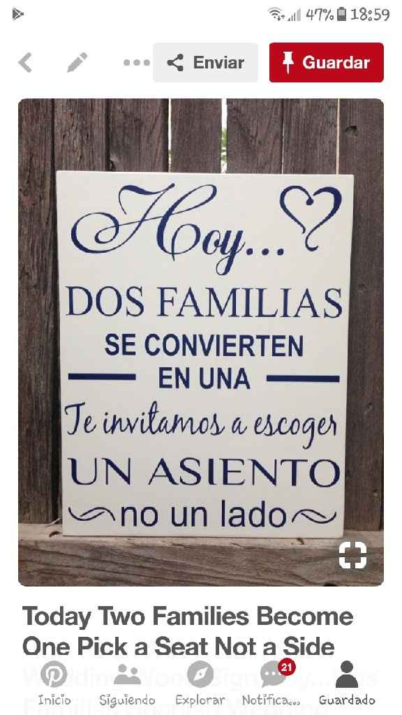 Diy: cartel bienvenida - 1