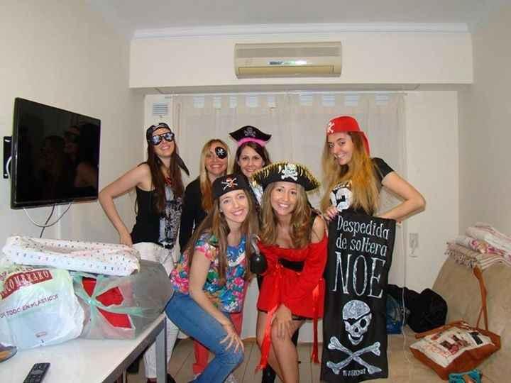me disfrazaron de pirata