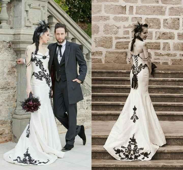 Tipos de estilos🎇: boda gótica - 5