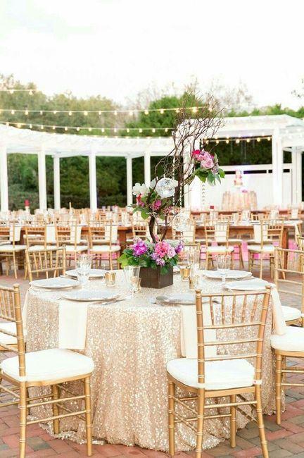Una boda rom ntica en rosa y dorado - Bodas sencillas y romanticas ...