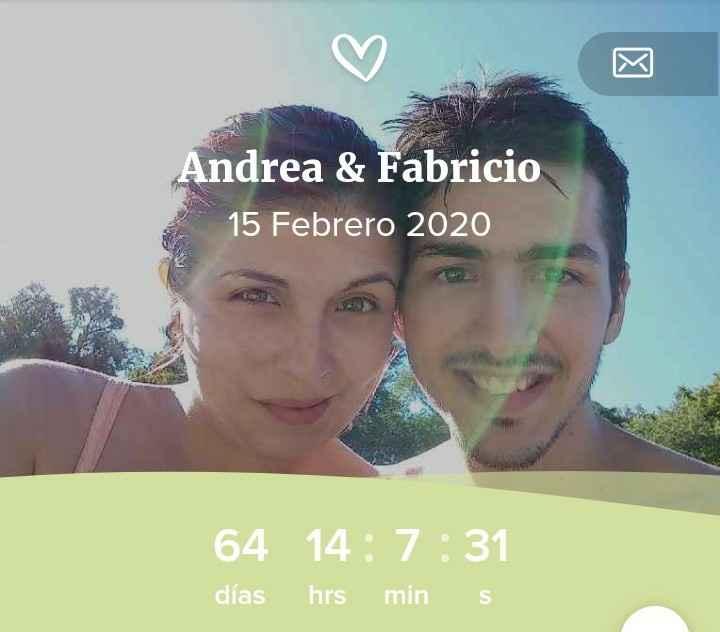 Andrea y Fabricio, nuestro calendario de amor. - 1