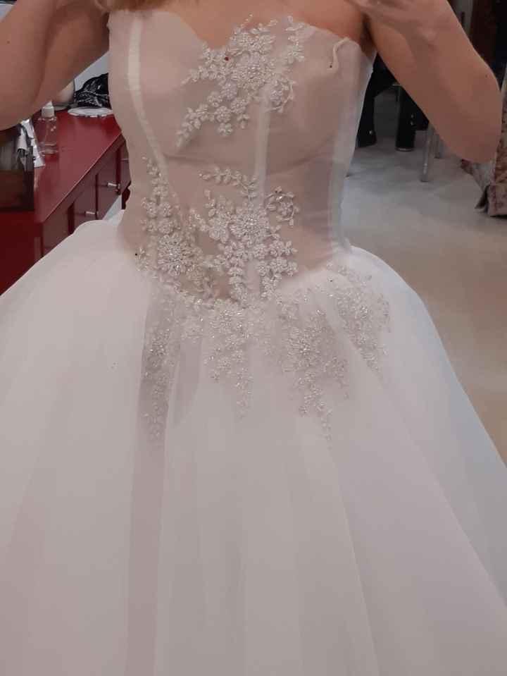 Primer prueba de vestido 🤩 - 4