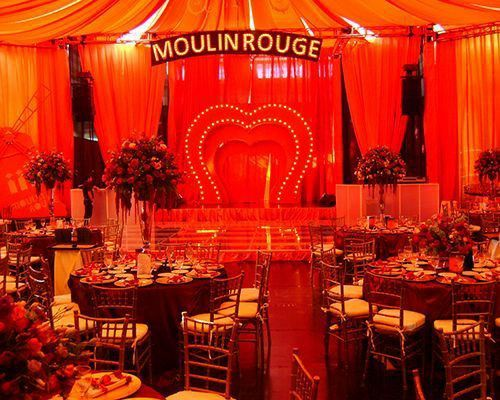 Bodas tematicas: Moulin Rouge 2