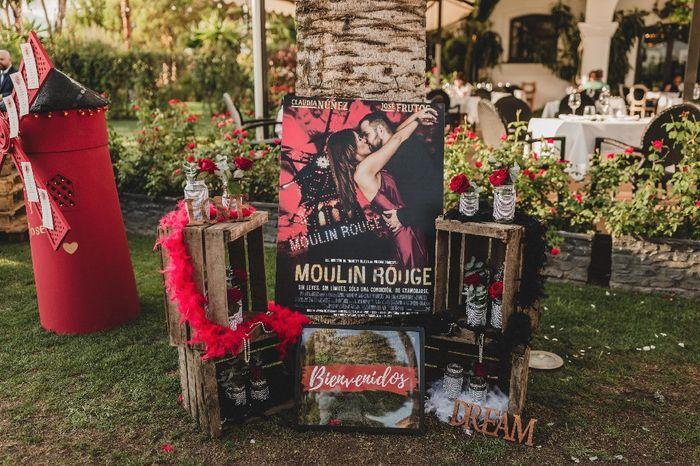 Bodas tematicas: Moulin Rouge 4
